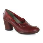 Sapato Em Couro Lolla Alto Rouge J.Gean