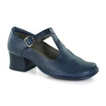 Sapato New Kelly Blue Em Couro J.Gean