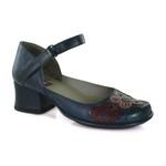Sapato New Kelly Blue Em Couro J.Gean