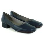 Sapato New Mariah Navy Em Couro J.Gean