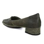 Sapato New Mariah Café Em Couro J.Gean