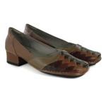 Sapato New Mariah Em Couro Ocre J.Gean