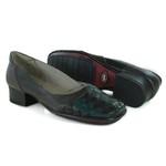 Sapato New Mariah Em Couro Grafite J.Gean