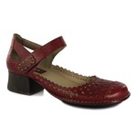 Sapato New Kelly Em Couro Rouge J.Gean