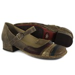 Sapato New Mariah Em Couro Café J.Gean