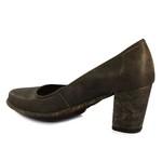 Sapato Ibizza Em Couro Café J.Gean