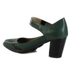 Sapato Ibizza Em Couro Esmeralda J.Gean