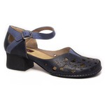 Sapato em Couro New Kelly Blue J.Gean