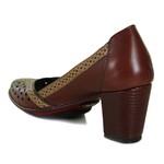 Sapato Ibizza Vermelho Em Couro J.Gean