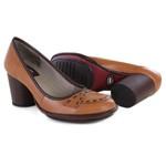 Sapato Lolla Alto em couro Tamara J.Gean