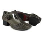 Sapato New Kelly em couro Café J.Gean