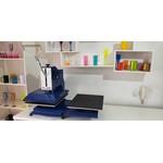 Máquina Prensa Plana PL 245 40x50 para Sublimação - Com 2 bandejas