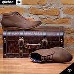 Bota Masculina Quebec Abu Dhabi Brown