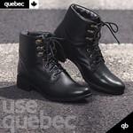 Bota Coturno Feminina Quebec Charlotte Preta
