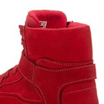 Tênis Masculino Rock Fit Metallica All Red