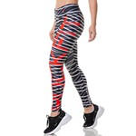 Calça Legging Feminina Rock Fit Abstract Lines