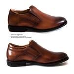 Sapato Social Super Leve Sapatoterapia Cognac Cerato