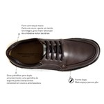 Sapato Casual Comfort Sapatoterapia Mustang New Track