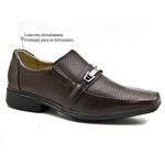 Sapato Social Super Leve Sapatoterapia Dark Brown Siena