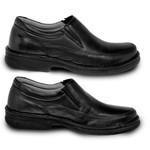 Sapato Masculino Social Super Leve Sapatoterapia Preto Versa