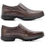 Sapato Super Leve Sapatoterapia Dark Brown Cadenza