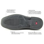 Sapato Super Leve Sapatoterapia Preto Captiva