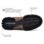 Bota Masculina Sapatoterapia Nobuck Taupe Tracker