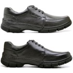 Sapato Casual Comfort Sapatoterapia Preto Tracker