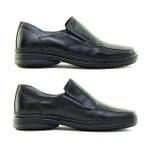 Sapato Casual Tradicional Tamanho Grande Sapatoterapia Preto