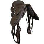 Sela Australiana Cavalgada Gel (Marrom)