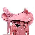 Sela Australiana Infantil com Cabeça (Rosa)