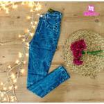 Calça Jeans Ozup Mesclada mayara lira