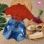 Shorts Jeans Pilily Com Corda