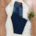 Calça Jeans Pilily Com Desfiado Lateral