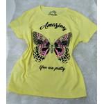 "T-shirt ""Amarelo"" Borboleta"