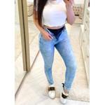 Calça Jeans Melinda Com cinta Modeladora  - Cor Claro