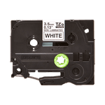 Fita não laminada tze-n201 3.5mm preto/branco