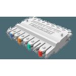 Conector 110idc (b50) femea 4 pares fisaflex cat.6 (embalagem 10 pcs)