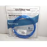 Patchview patch cord gerenciavel u/utp cat.6 lszh 3.0m azul