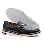 Sapato Casual Loafer Martino Preto