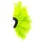 Brinco Penas Verde Neon Regulável - 1 PEÇA (Não é o par)