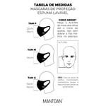 Máscara Espuma Lavável Coqueiros Listras Cor 5.25