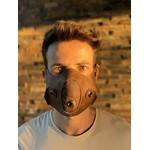 Máscara Couro Legítimo MODELO 7.4 (escrever cor desejada no final do pedido)