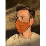 Máscara Tecido Lavável Mortal Kombat Laranja Cor 5.12