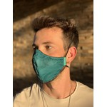 Máscara Tecido Lavável Mortal Kombat Turquesa Cor 5.11