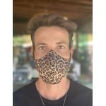Máscara Tecido Lavável Estampada Guepardo Cor 5.7