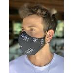 Máscara Tecido Lavável Estampada MANTOAN Cor 5.3