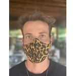 Máscara Tecido Lavável Estampada Onça Cor 5.4