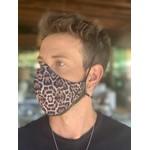 Máscara Tecido Lavável Estampada Onça Cor 5.6