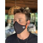 Máscara Tecido Lavável Laranja Cor 4.3